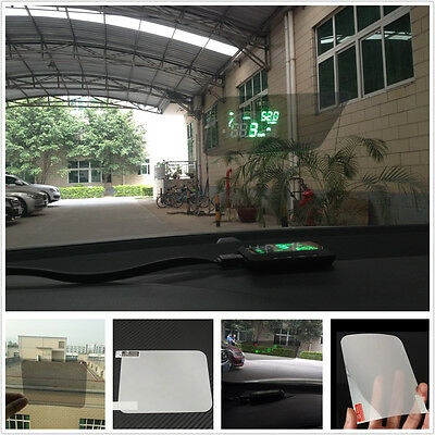 Car Glass Windshield Surface OBD HUD Head Up Displayer Display Reflective Film
