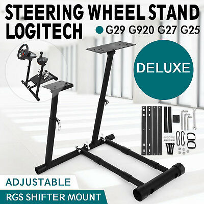 Racing Simulator Steering Wheel Stand for G27 G29 PS4 G920 T80 with RGS shifter