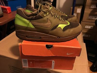 RARE 2005 Nike Air Max 1 Evolution Pack Men's Size 8 309740 321 atmos  animal off