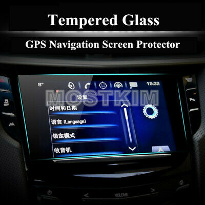 Tempered Glass GPS Navigation Screen Protector For Cadillac CTS 2014-2019