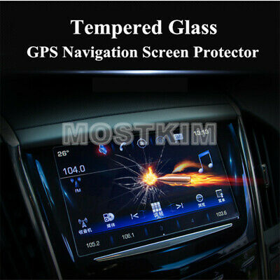 Tempered Glass GPS Navigation Screen Protector For Cadillac ATS 2013-2019