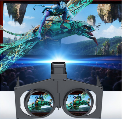 VR Fold Foldable 3D Virtual Reality Glasses Video Game for Smartphone OD