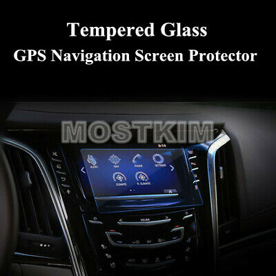 Tempered Glass GPS Navigation Screen Protector For Cadillac Escalade 2015-2019