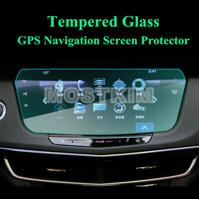 Tempered Glass GPS Navigation Screen Protector For Cadillac CT6 2016-2019
