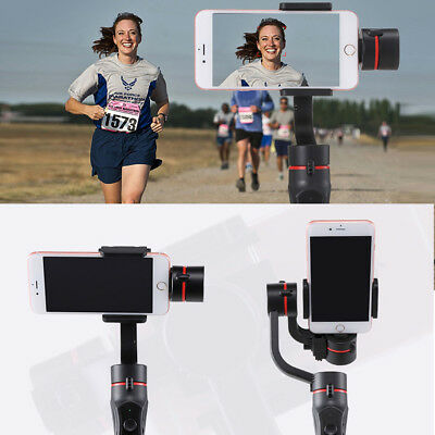 UK Adjustable 3-Axis Handheld Mobile Phone Gimbal Stabilizer for Smart phone