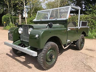 """1956 Land Rover Series 1 86"""" 2.0 Soft Top fully restored"""