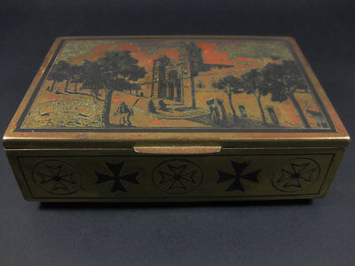 Rare Genuine Vintage St John's Cathedral Malta Music Box / Sold As Is For Repair