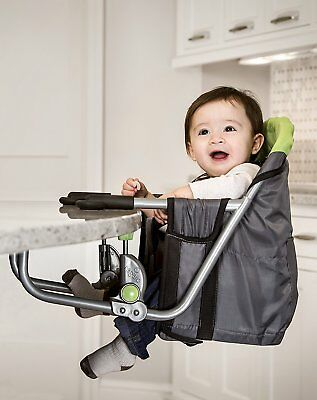 High Chair Table Seat Baby Booster Toddler Infant Highchair Hook On Table  Clamp