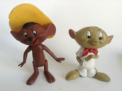 Lot de 2 figurines souris Warner Bross dont 1 pouet BON ETAT