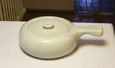 Vintage Russel Wright Steubenville Granite Grey Covered Casserole
