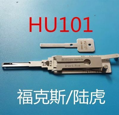 100% LISHI 2-in-1 Pick HU101 for Ford FOCUS, Land Rover, Volvo,JAGUAR,MAZDA