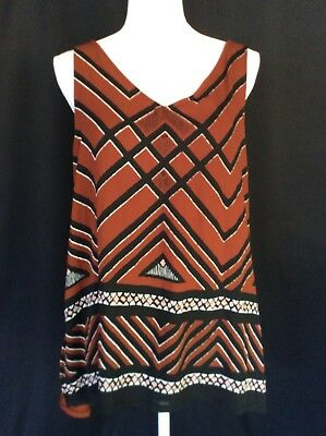 21a2dbef765ff NEW APT. 9 Womens Knit Top Blouse Sleeveless Multicolor Soft Comfy ...