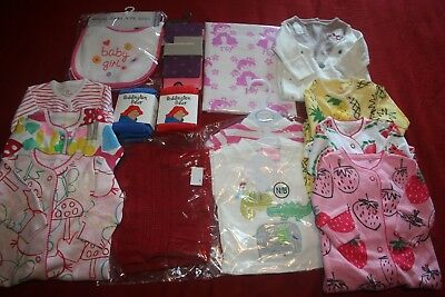 Newborn Baby Girl's Large NEW Clothing Bundle - including NEXT - FREE POST