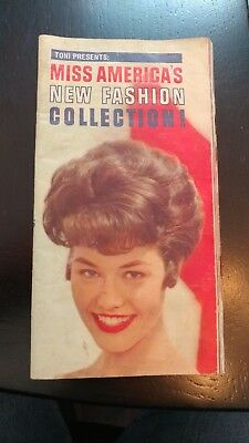 1961 MISS AMERICA FASHION COLLECTION  published by The Toni Company  HAIR STYLE