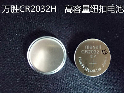 1PCS NEW Maxell CR2032H Button cell 3V large capacity battery