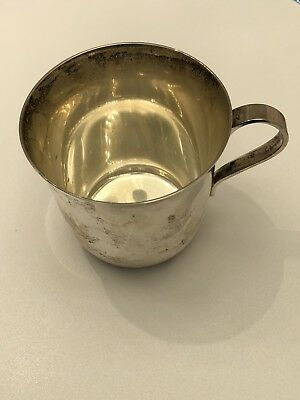 Vintage Tiffany & Co 925 Sterling Silver Baby Cup 23498