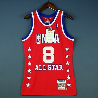 16d70a9d3 100% Authentic Kobe Bryant Mitchell Ness 2003 All Star Jersey Mens Size 36 S