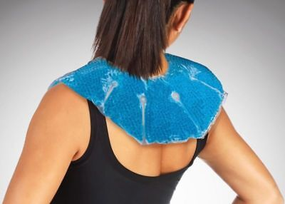 Neck Wrap Reusable Hot Cold Therapy Pack with Gel Beads Best Ice Pain Relief