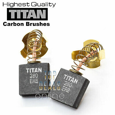 TITAN TTB280DRH Concrete Breaker Carbon Brushes 1700w 15.5kg Highest Quality
