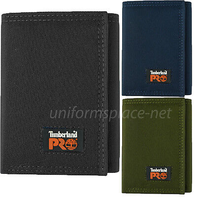 Timberland Pro Cordura Nylon Wallet Men Trifold RFID Stop Identity Theft Wallets