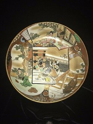 Japanese Meiji Period - Kutani Fine Ceramic Large Bowl