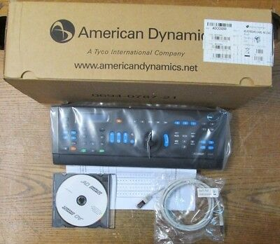 NEW NOS American Dynamics ADCC0200 Security Camera Keyboard Control Center