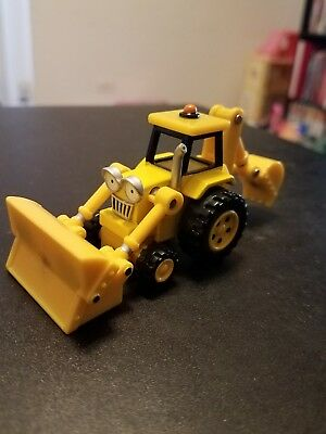 Bob The Builder Metal Diecast Toy Scoop Magnetic Learning Curve HTF