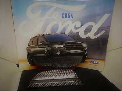 Ford Kuga ab 2013 Türgriff Verschluss Carbon Style o. silber, Kuga Schrift 4tlg.