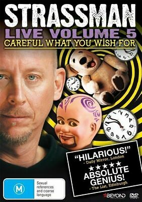 David Strassman - Careful What You Wish For DVD R4