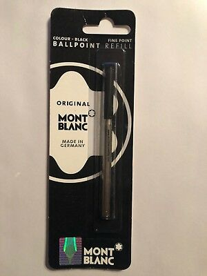 Genuine AUTHENTIC Montblanc Ballpoint Refill Black Fine 15151 (40SGF) BRAND New
