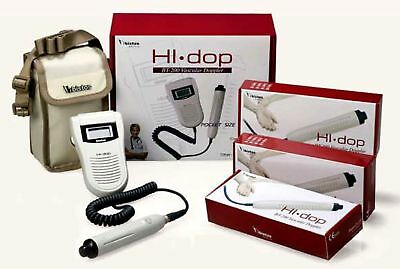Hi Dop Vascular Doppler Set Complete With 1 Vascular Probe - (8MHz Probe)