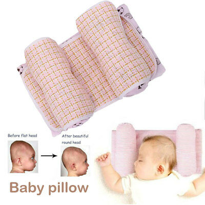 3 Colors Infant Shaping Pillow Baby Shaping Pillow Head Positioner Cushion