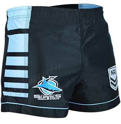 Cronulla Sharks 2018 NRL Home Footy Shorts BNWT