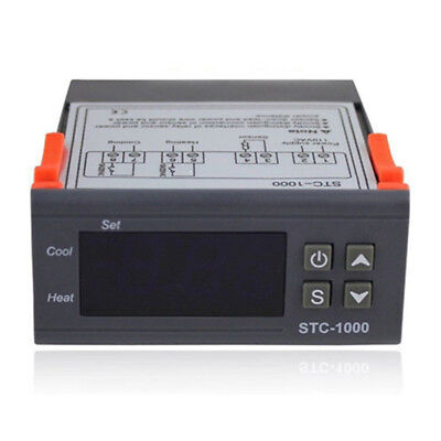 STC-1000 Digital Sensor Temperature Controller Warm and Cold Seafood Machine