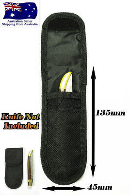 Nylon Belt Sheath Pouch for Pocket Knife Vertical or Horizontal Wearable Quality
