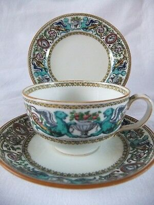 Minton / Mintons c1912 to 1950 Trio China Plus Others