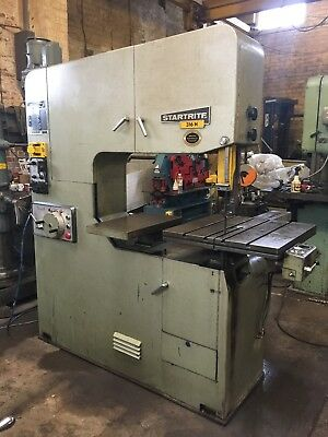 Startrite 316H Vertical Bandsaw. Hyd Power Feed Table. 3 phase £1895.00 + Vat