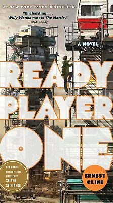 Ready Player One: A Novel by Ernest Cline {Mass Market Paperback } {NO TAX} NEW