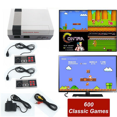 HDMI NES Mini Classic Edition Games Console with 600 Classic Nintendo Games