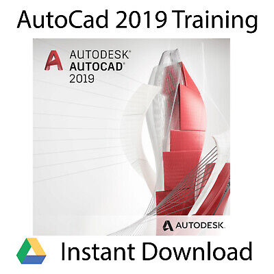 Autodesk AutoCAD 2019 Professional Video Training Tutorial - Instant Download