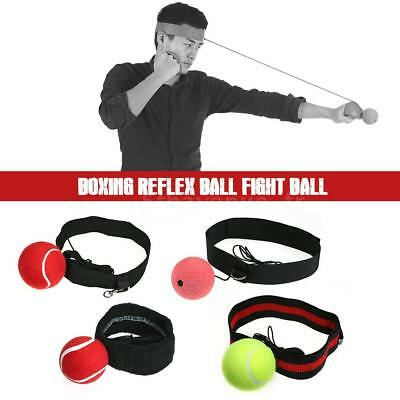 Boxing Reflex Ball Fight Ball with Adjustable Headband for Reflex Speed G2V1