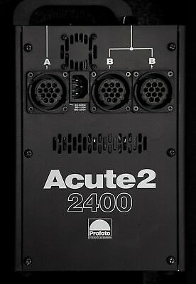 Profoto Acute 2 2400w/s 2 Head Pro Value Pack with Air Case