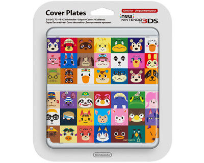New Nintendo 3DS Animal Cross Zierblende NEU OVP