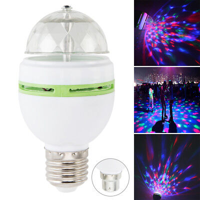 RGB LED Disco Ball DJ Party Light Effect Remote Strobe Gift Party Bulb Lamp