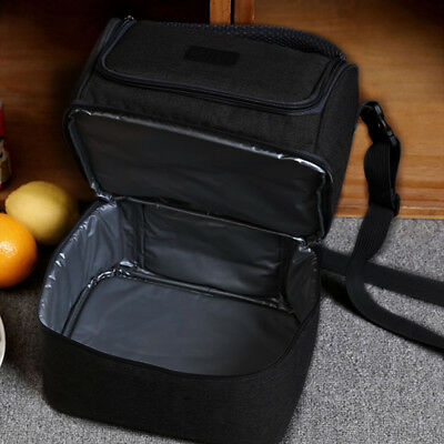 AU Compartment Insulated Lunch Bag Cooler Bag School Picnic Work 7L