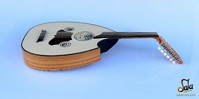 Turkish Professional Half Cut Electric Oud Ud String Instrument Aoh-370G
