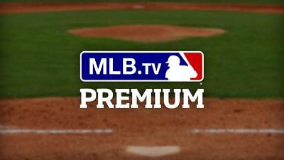 MLB.TV Premium Account (2018 Season)- With Warranty [Instant Delivery] WORLDWIDE