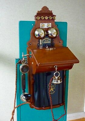 Ericsson Wall Phone.C1900 Restored.Stunning.