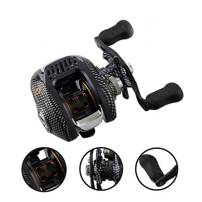 Baitcaster 13BB Baitcasting Fishing Reel 6.3:1 Speed Left/Right Handed