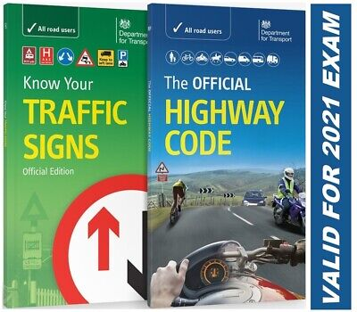 DVSA OFFICIAL HIGHWAY CODE & KNOW YOUR TRAFFIC SIGNS PAPERBACK 2019*TrFc+Hw